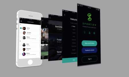 Sportify - Sports app futsal, badminton, golf
