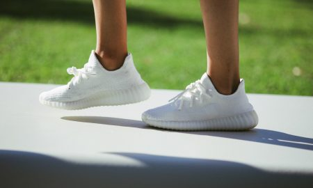 All white yeezy boost 350 adidas kanye