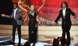 Stranger Things Uptown Funk Emmys