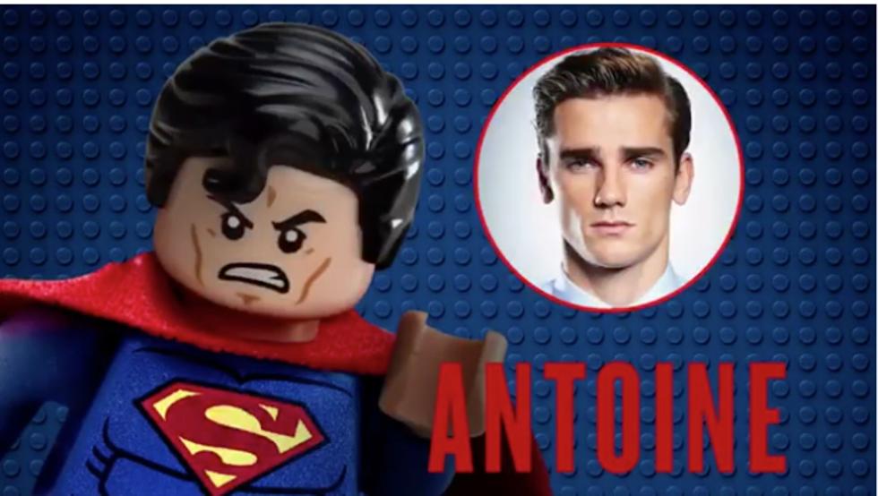 Antoine Griezmann Is Voicing Superman In the Lego Batman Movie