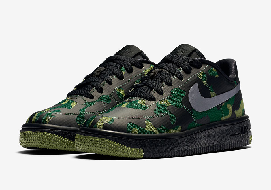eaeada8b65be9 Nike Air Force 1 Ultra Low Gets An Updated Waterproof Camo Treatment