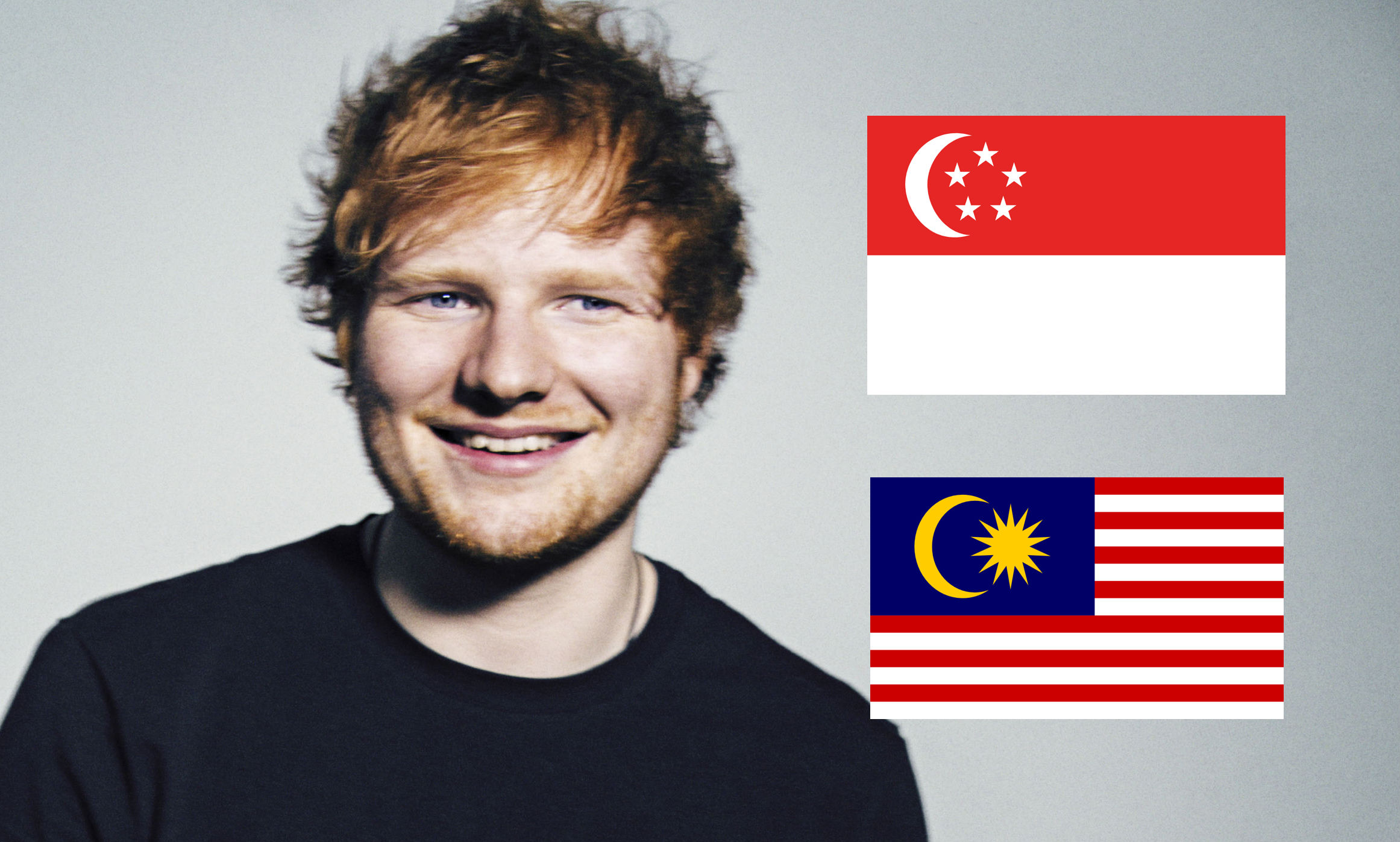 9b1af0829bb Ed Sheeran Is Definitely Bringing His  Divide  Tour To Southeast Asia