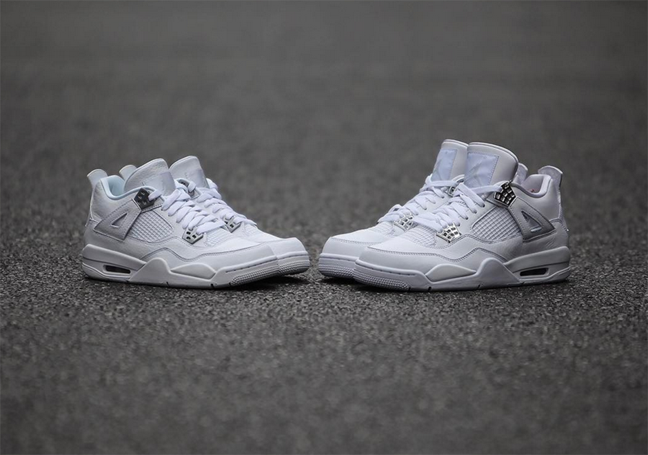 the air jordan 4 pure money returns this may here 39 s a. Black Bedroom Furniture Sets. Home Design Ideas