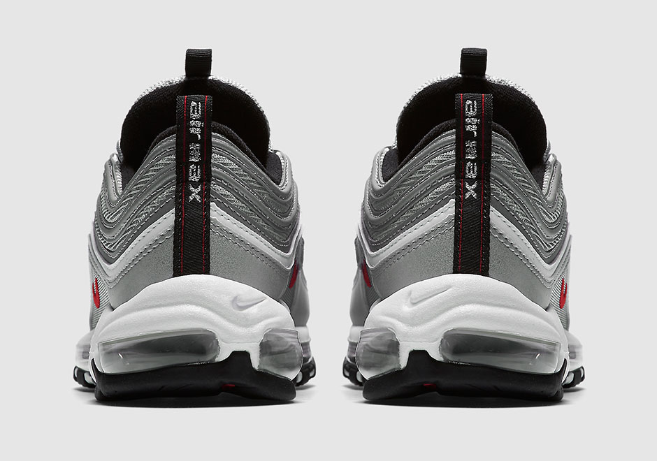 Details about NIKE AIR MAX 97 OG QS SIZE 11 (884421 001) SILVER BULLET 20162017
