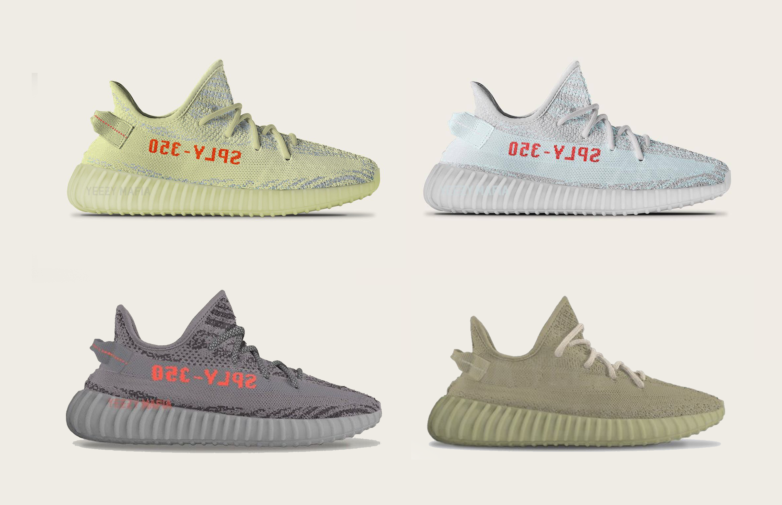 new concept 7fe4d 35c8c These Are The 4 Remaining YEEZY BOOST 350 V2 Models Dropping ...