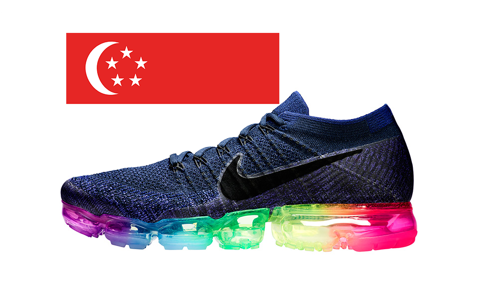 "bb0bb461bd The NikeLab Air VaporMax ""Be True"" Drops in Singapore on June 1"