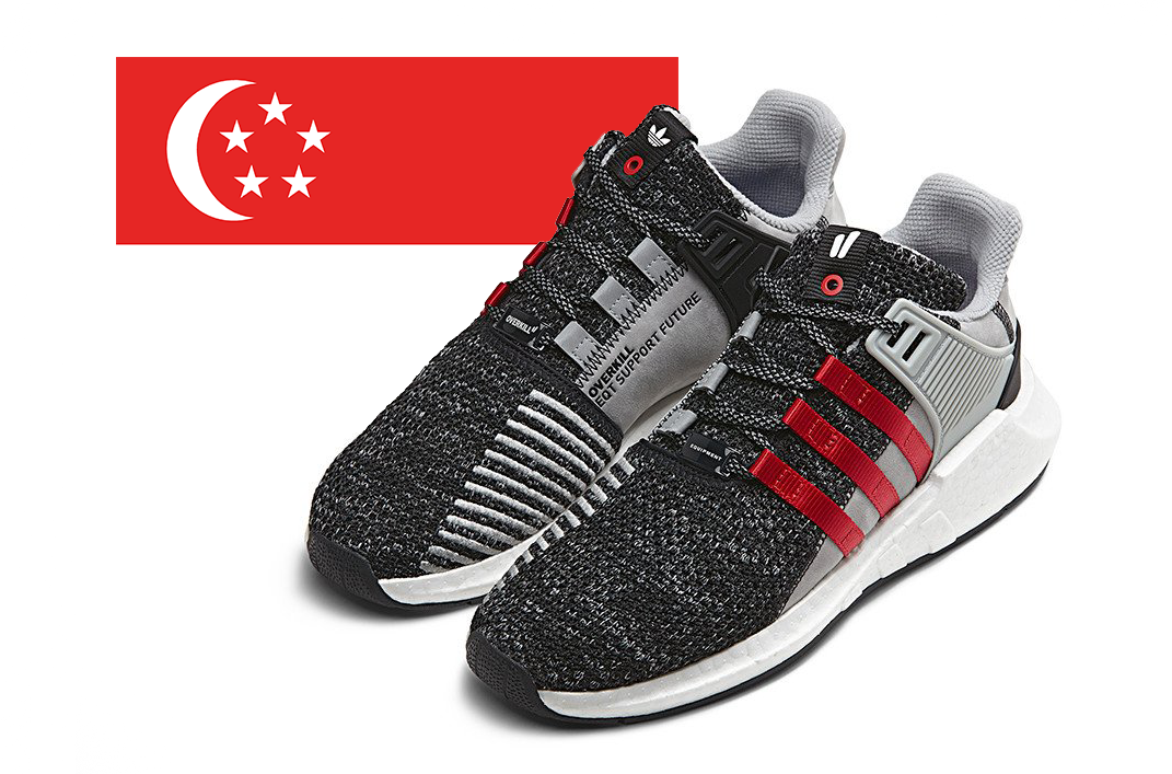 "adidas x Overkill's EQT Support ""Coat of Arms"" Pack Drops in Singapore on  May 27"