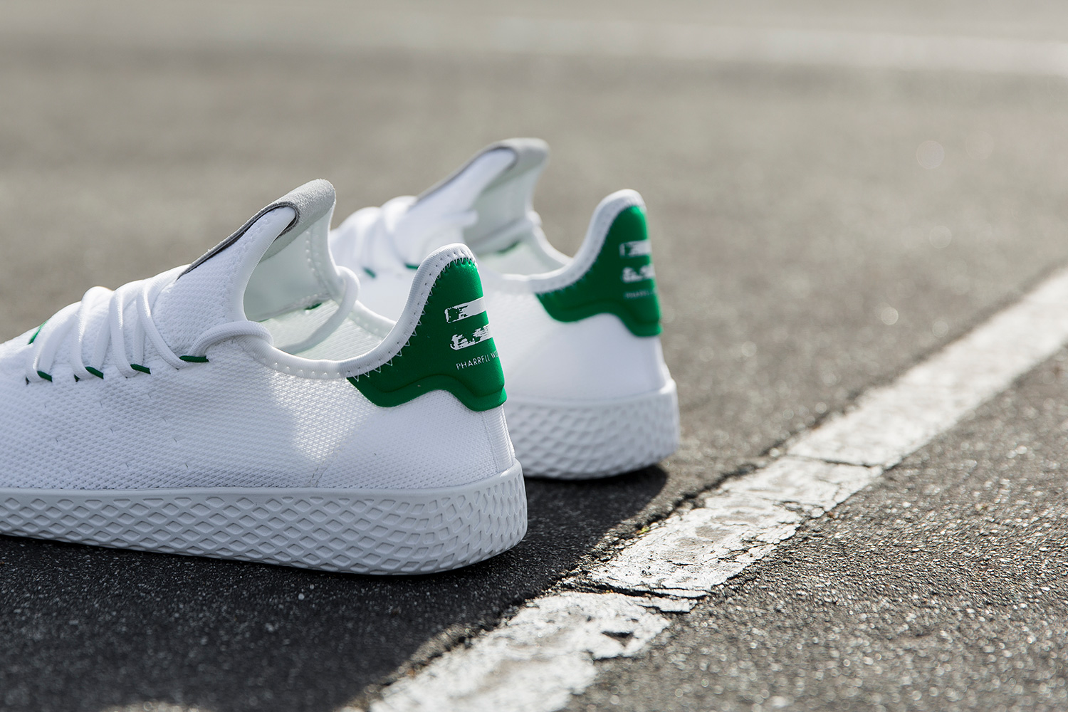 finest selection 07fe3 d7147 Take a Closer Look At adidas  Pharrells Upcoming Tennis HU S