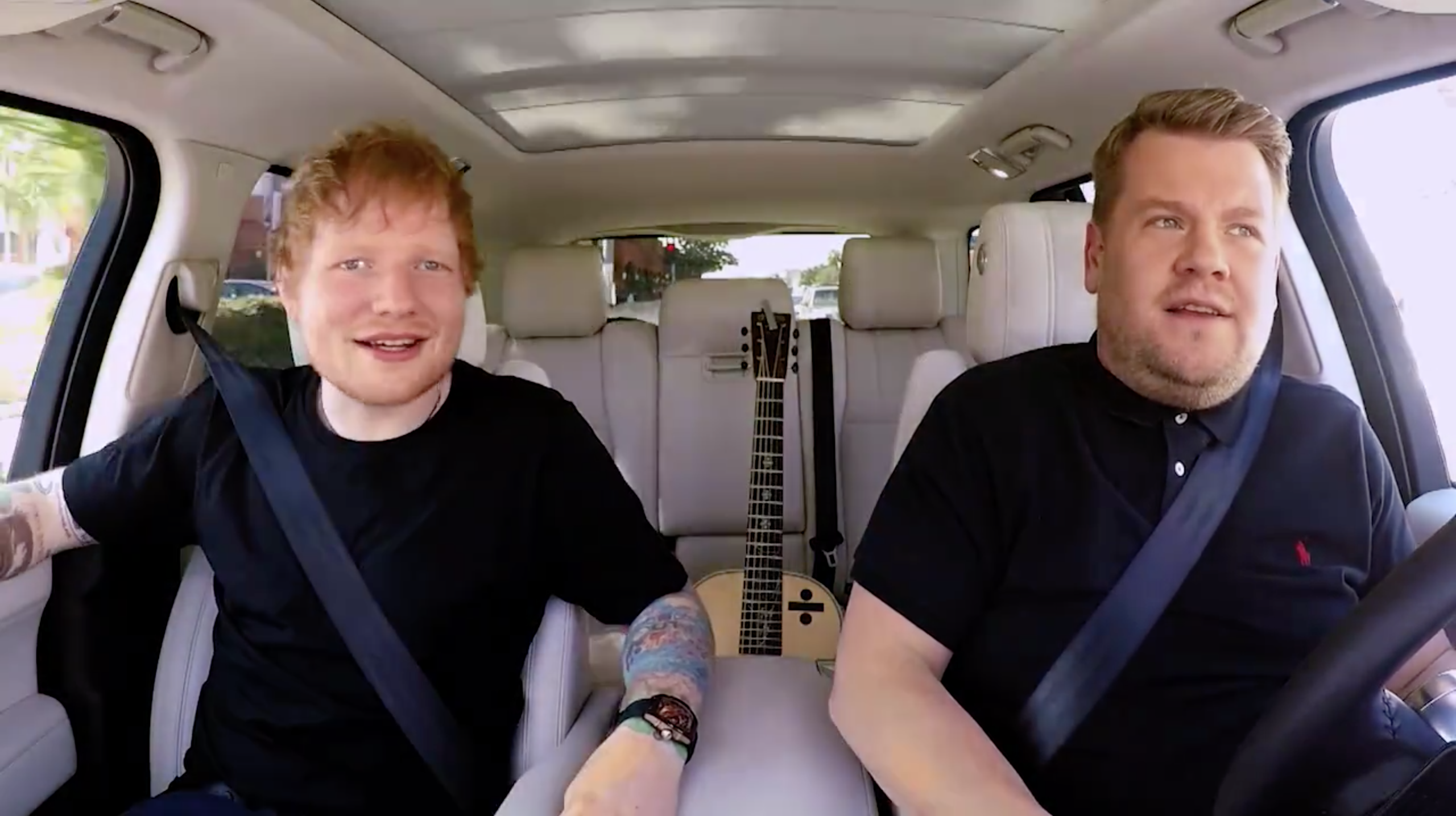 1a9dded4057 Ed Sheeran To Appear on Carpool Karaoke Tonight with James Corden