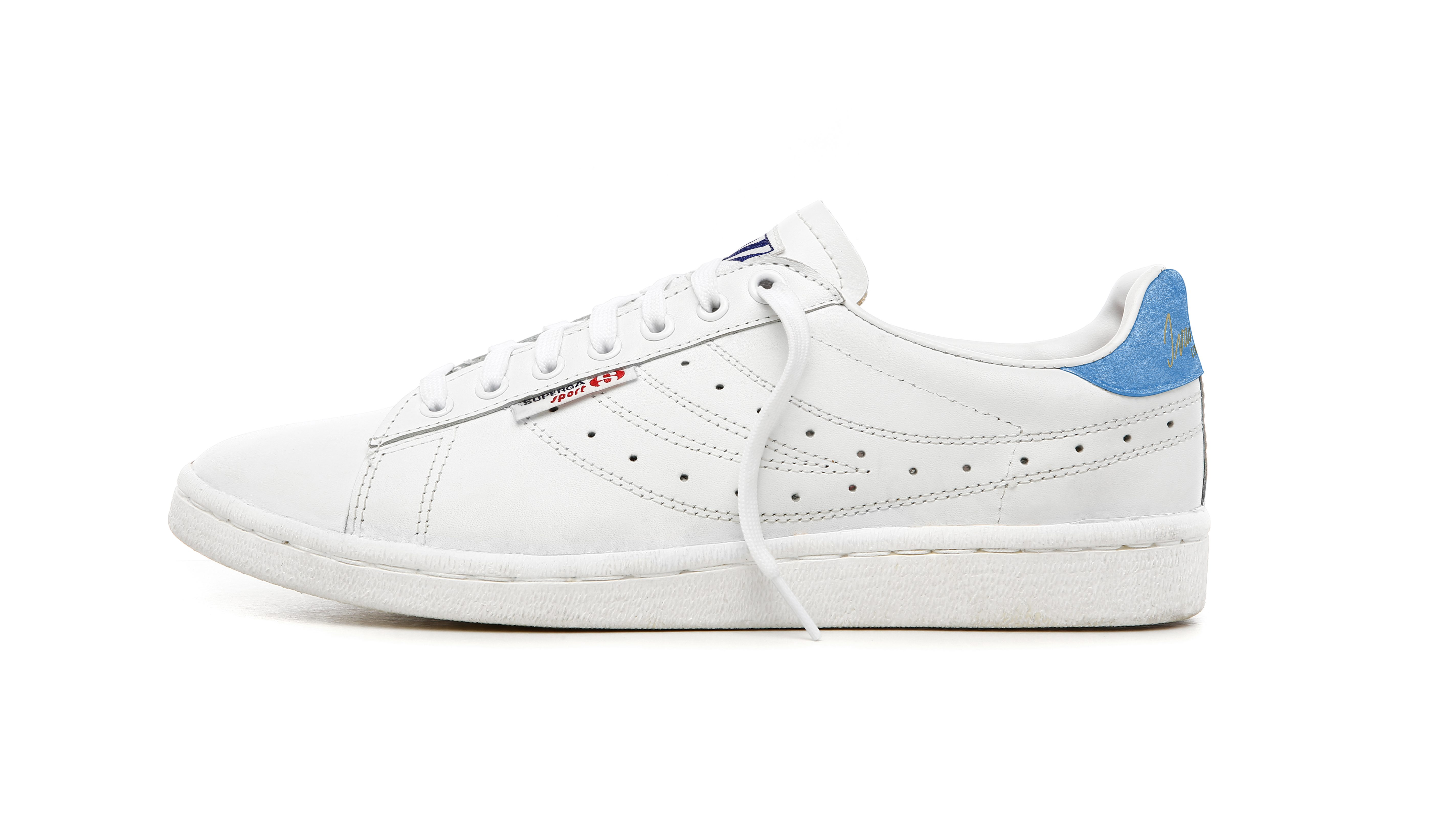 Superga IVAN LENDL LEATHER SNEAKERS