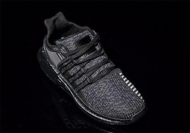 Adidas Has A Quot Triple Black Quot Version Of The Eqt 93 17 Boost