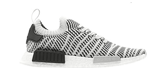 Adidas NMD_R1 PK Men's Shoes White/White/Black By1911 (8 D(M