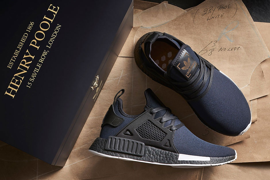 Take A Closer Look At The size? x Henry Poole x adidas Originals NMD XR1  and R2