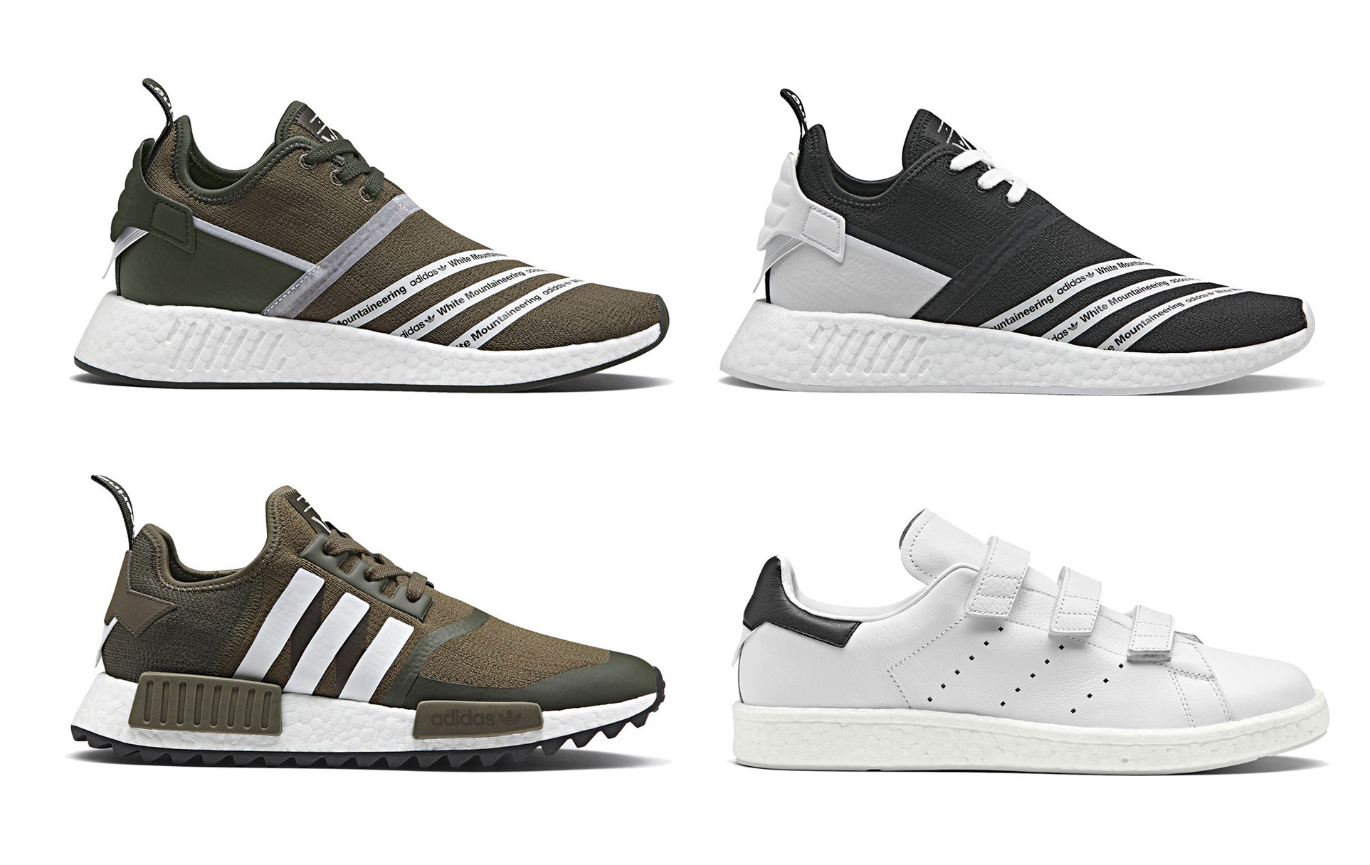 detailed pictures bae23 5225a adidas and White Mountaineering Have A Surprise Drop This We