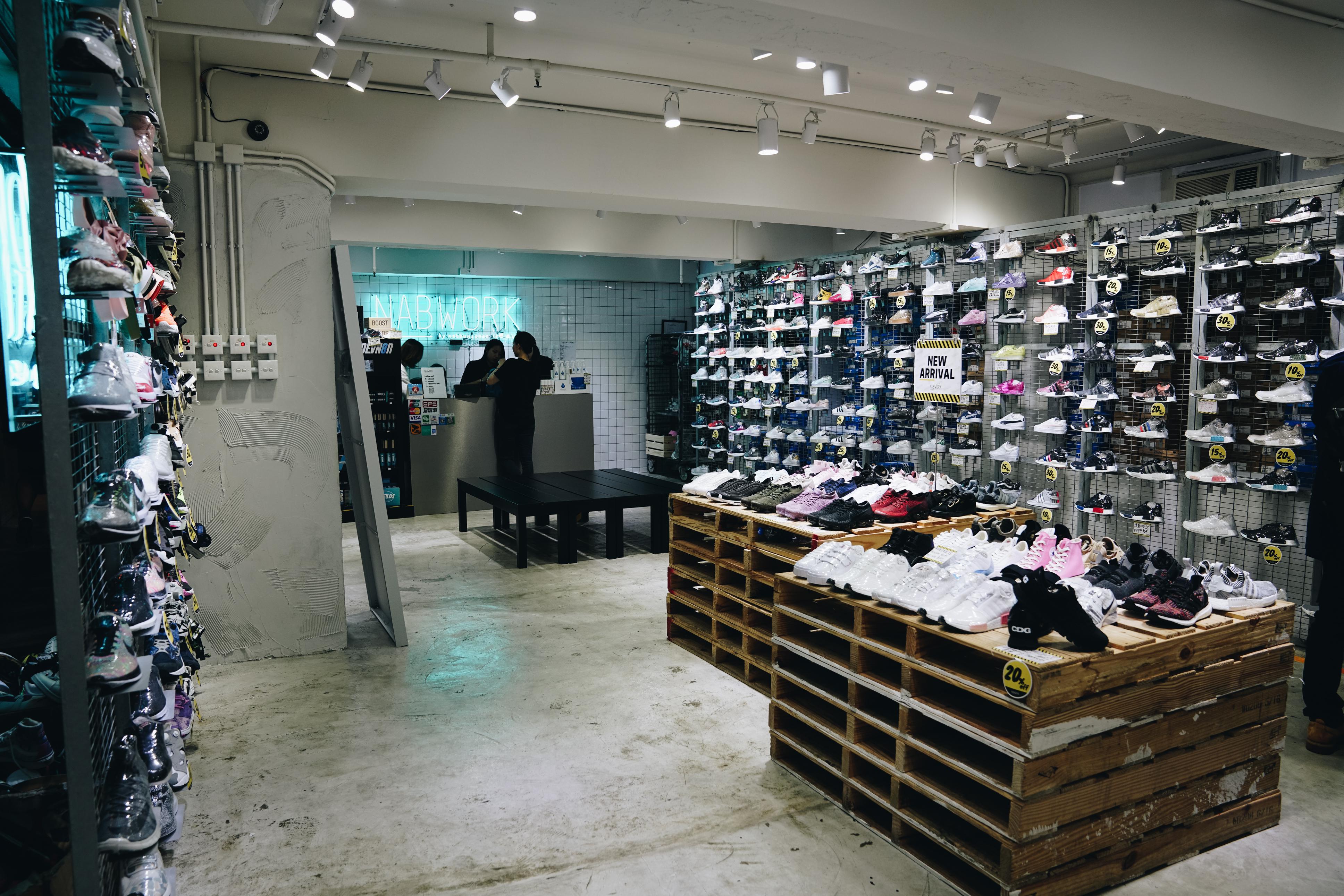 Sneaker Shopping In Hong Kong