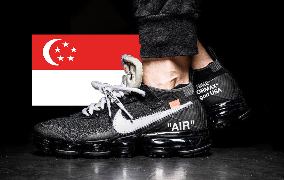 Nike x Off White Drop in Singapore What We Know So Far