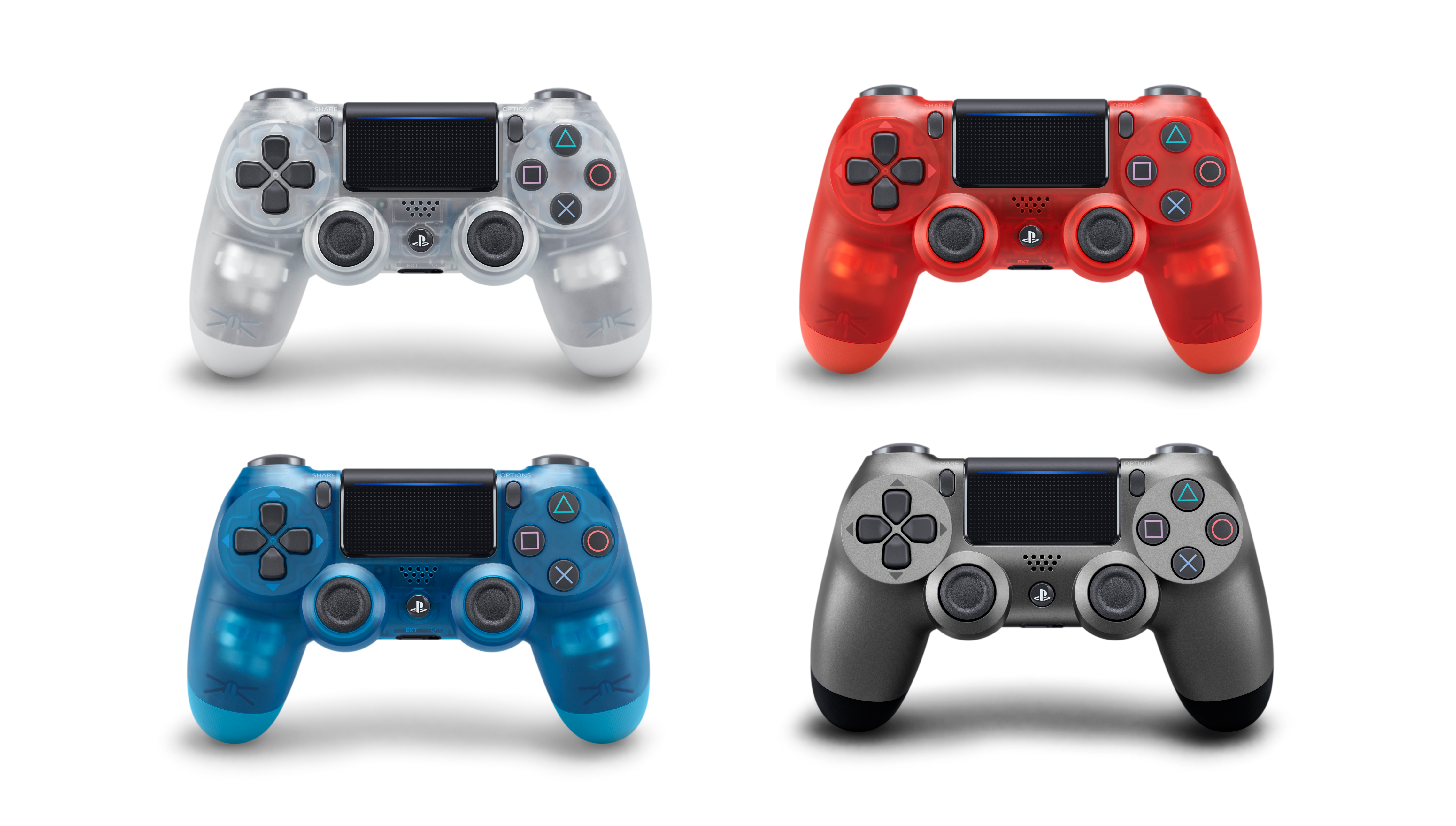 Controller Ps4 Console Back Pictures Emio Elite Blue Colour Sony Is Bringing Translucent Controllers For Its Next Month 4557x2587