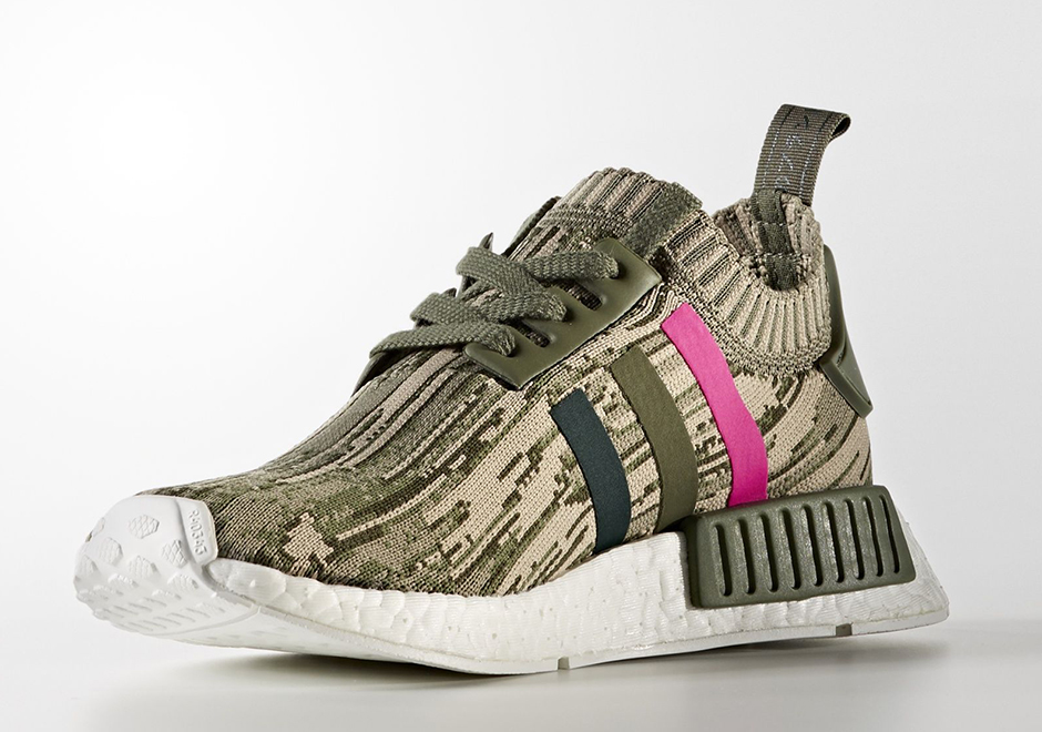new product eaa30 733d4 The adidas NMD R1 Primeknit Is Getting Camo ed Out This October