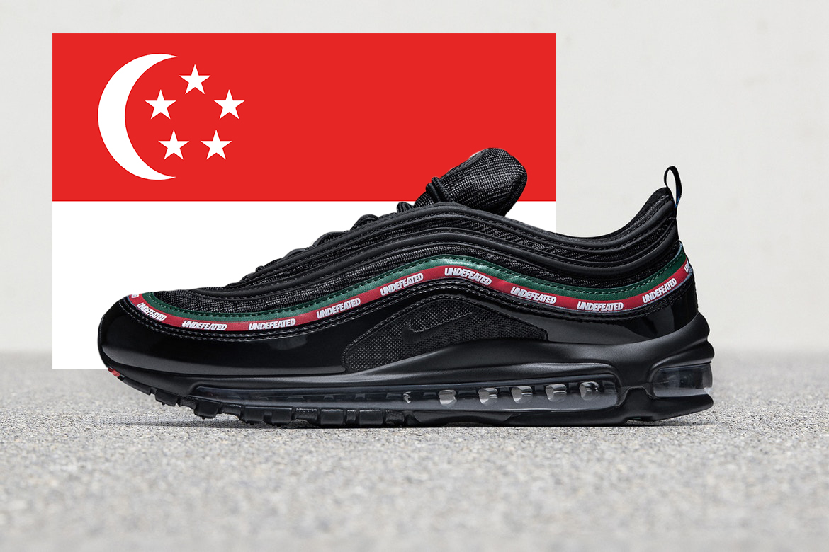 nike air max 97 og undefeated schuhe Turnschuhe