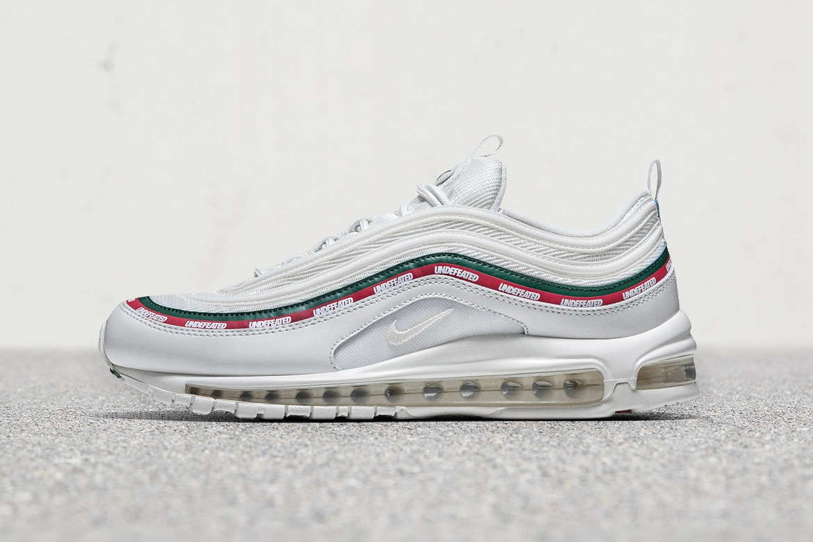 Undefeated x Nike Air Mx 97 OG White