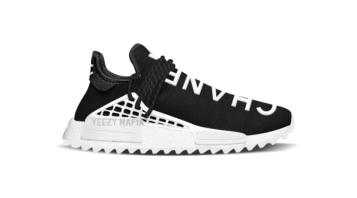 73e57dcee The Chanel x Pharrell adidas Originals NMD Hu Gets A Release Date