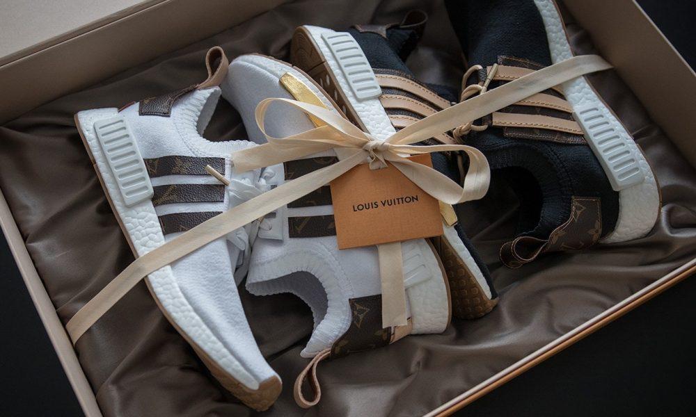 Custom-Made Louis Vuitton x adidas NMD R1
