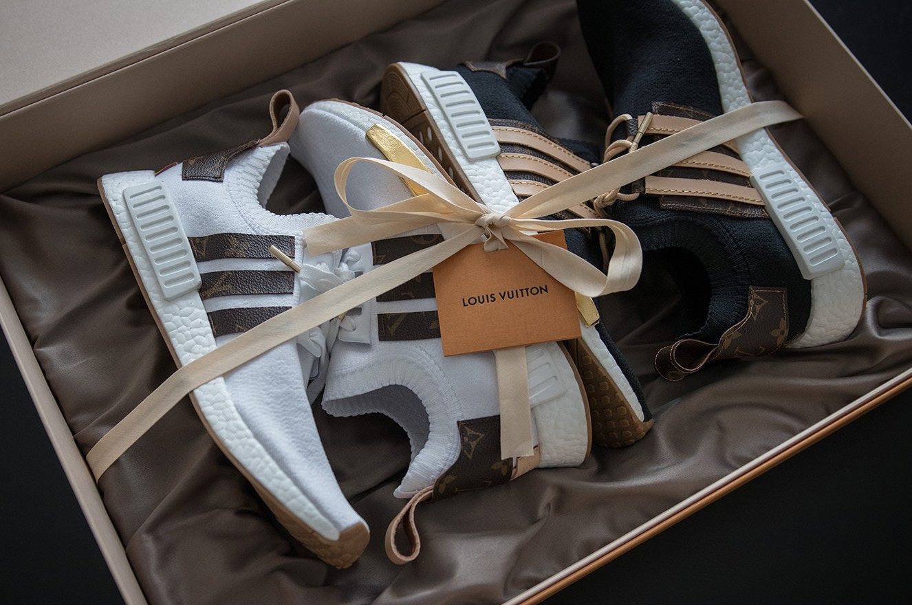 check out 7db8b 947c3 Check Out Craig David's Custom-Made Louis Vuitton x adidas ...