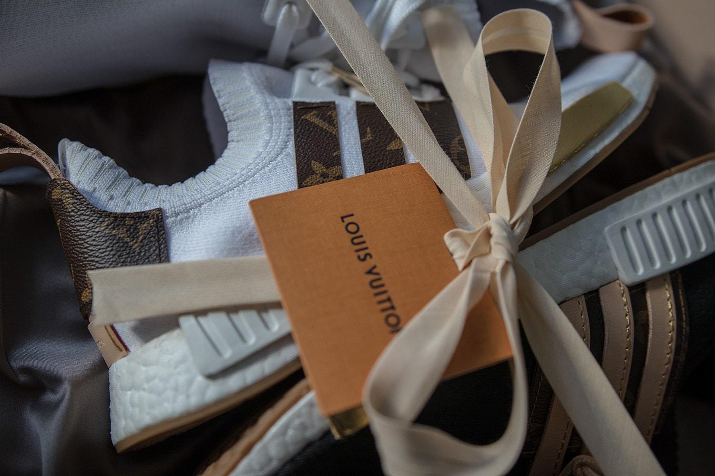 e4c47e4d8 Image  Sneakersnbonsai. Image  Sneakersnbonsai. Check Out Craig David s  Custom-Made Louis Vuitton x adidas NMD R1