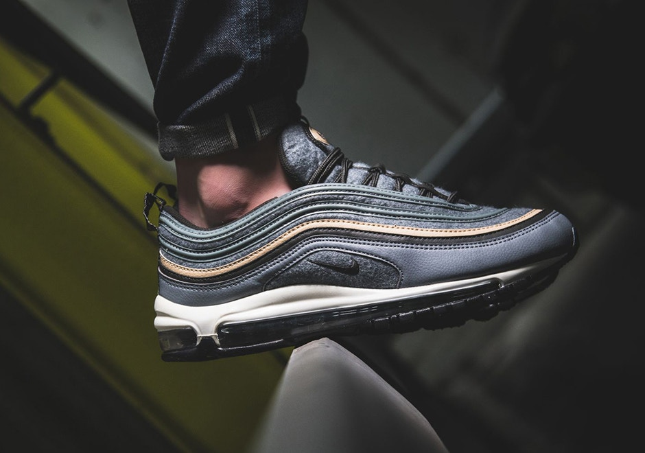 "949ec8ee301 Here's An On-Feet Look At The Air Max 97 ""Deep Pewter"""