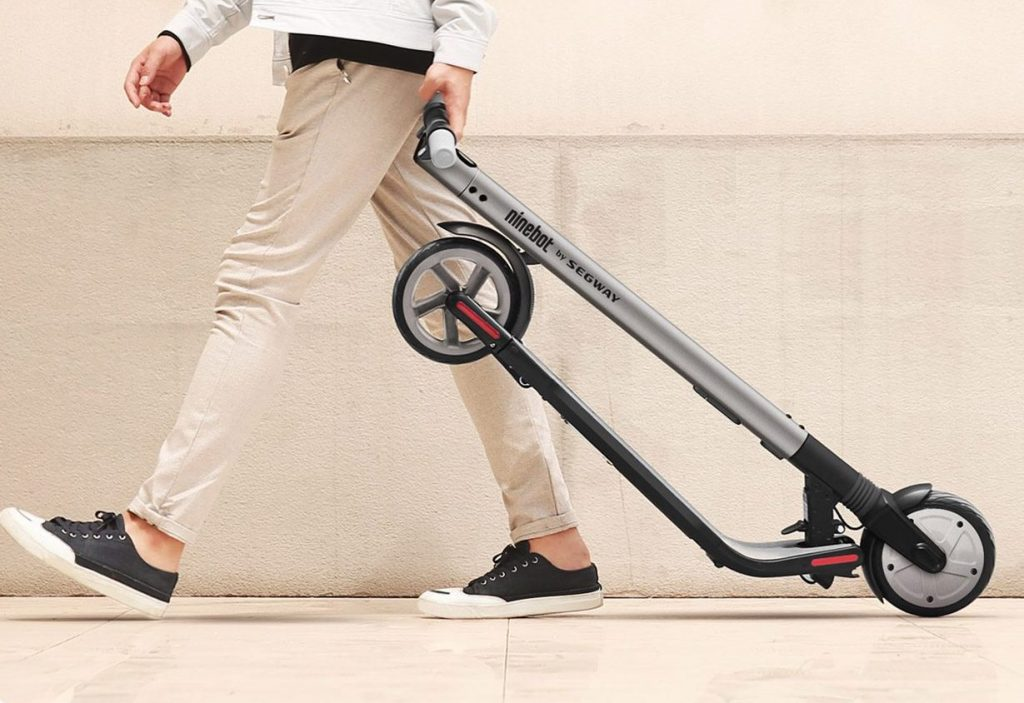 segway returns with an electric kickscooter to end all. Black Bedroom Furniture Sets. Home Design Ideas