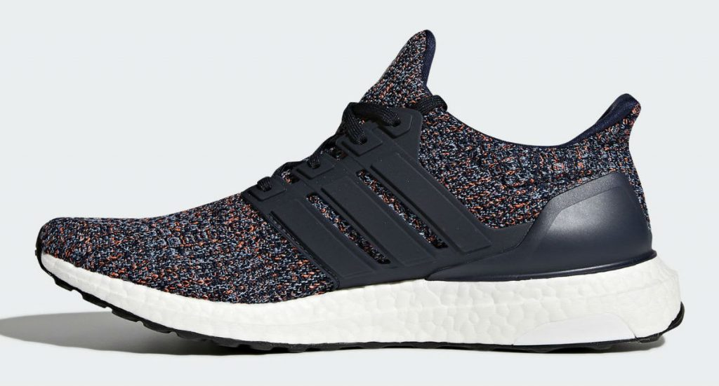 Adidas Ultra Boost 4.0 Collegiate Navy Ash Blue Multi Color BB6165