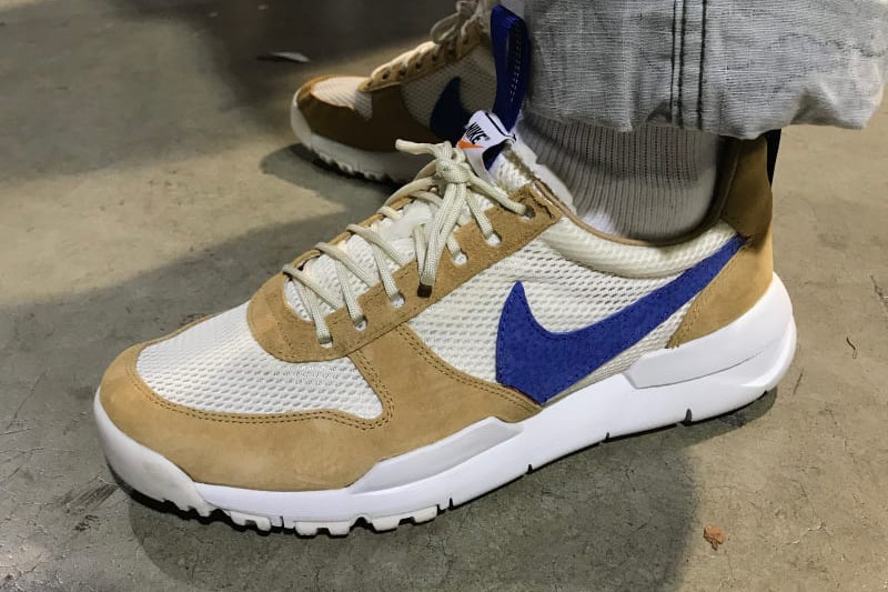 An Unreleased Pair of Tom Sachs x Nike Mars Yard 2.0 Was Spotted At  ComplexCon 5e6b316dbcb8