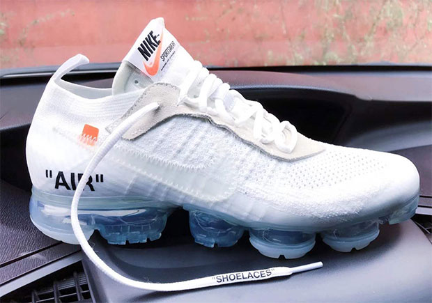 reasonable price low cost top quality The Off-White x Nike VaporMax Looks Set To Arrive In White