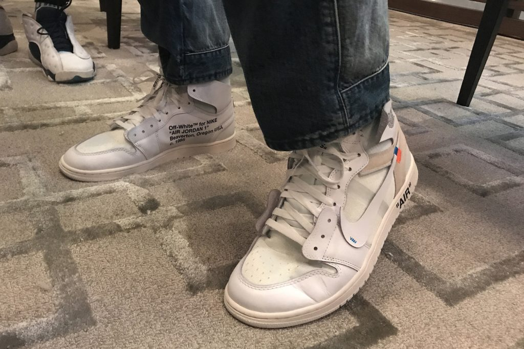 An Unreleased Off,White™ x Air Jordan 1 Has Been Spotted On Feet