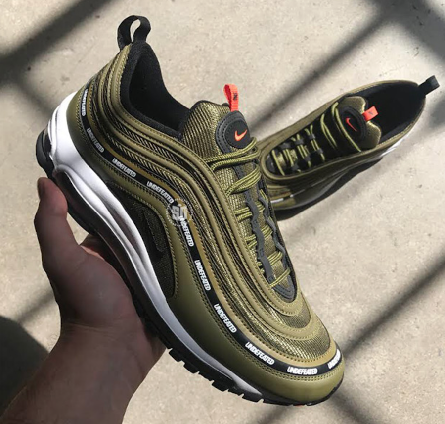 more photos d74ff f7e41 The Undefeated x Nike Air Max 97 in