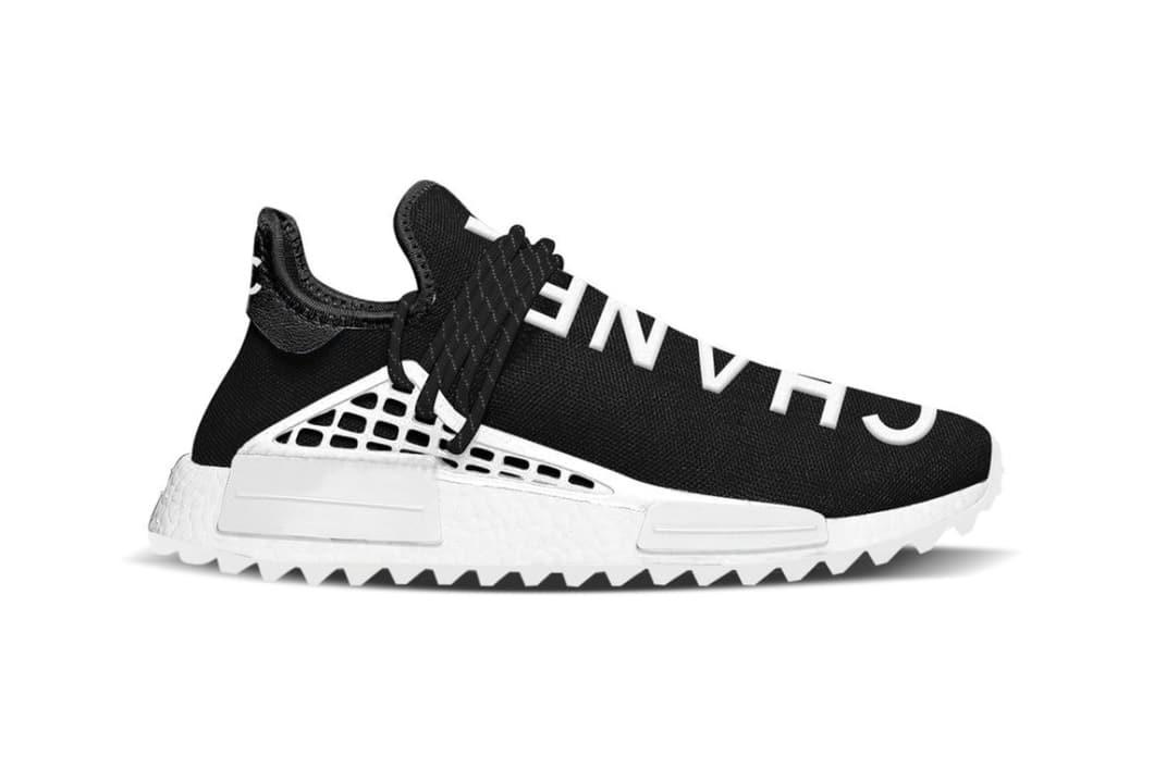 260003a1 2) Pharrell x Chanel x adidas NMD Hu Trail