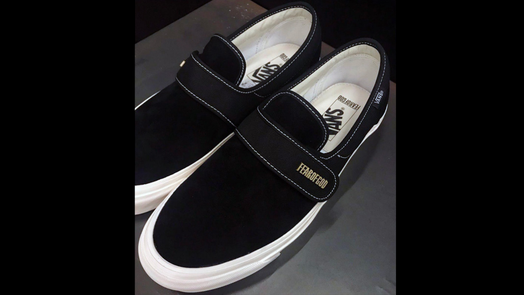 7f232944e0cf Fear of God x Vans Slip-On Style 147 in Black Teased By Jerry Lorenzo