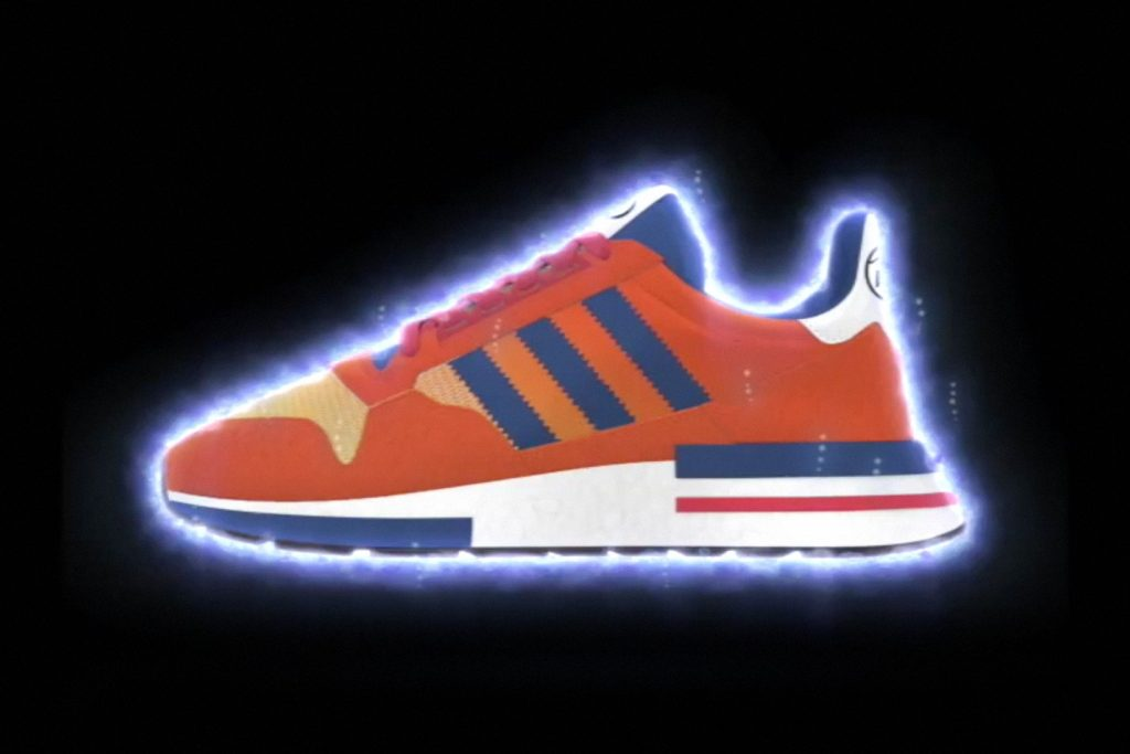87c569f43db Here s A First Look At The Dragon Ball Z x adidas ZX 500 RM