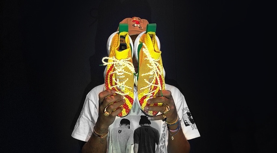 03694bed0e07f Pharrell Williams Shows Off His New adidas Sneaker Silhouette