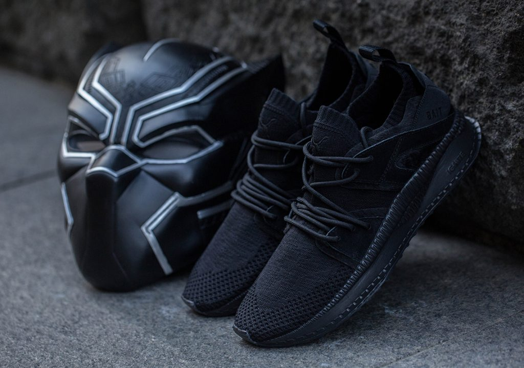 2a5c09f0be66 Marvel s Black Panther x BAIT x Puma Collaboration To Launch Alongside Film  Premiere