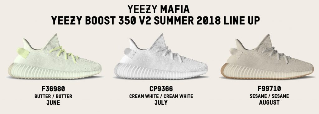 78b2f4264 These Are The 3 YEEZY BOOST 350 V2 Colourways Dropping In Mid-Year 2018