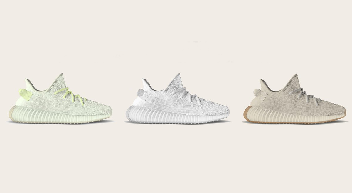 b3bca3f5a These Are The 3 YEEZY BOOST 350 V2 Colourways Dropping In Mid-Year 2018