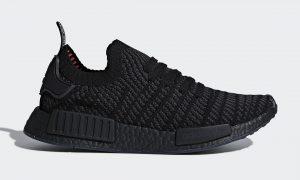 adidas nmd stlt triple black