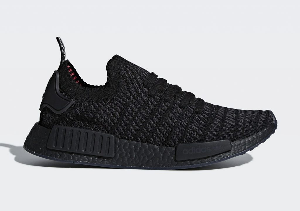 adidas nmd r1 stlt set to arrive in triple black this month. Black Bedroom Furniture Sets. Home Design Ideas