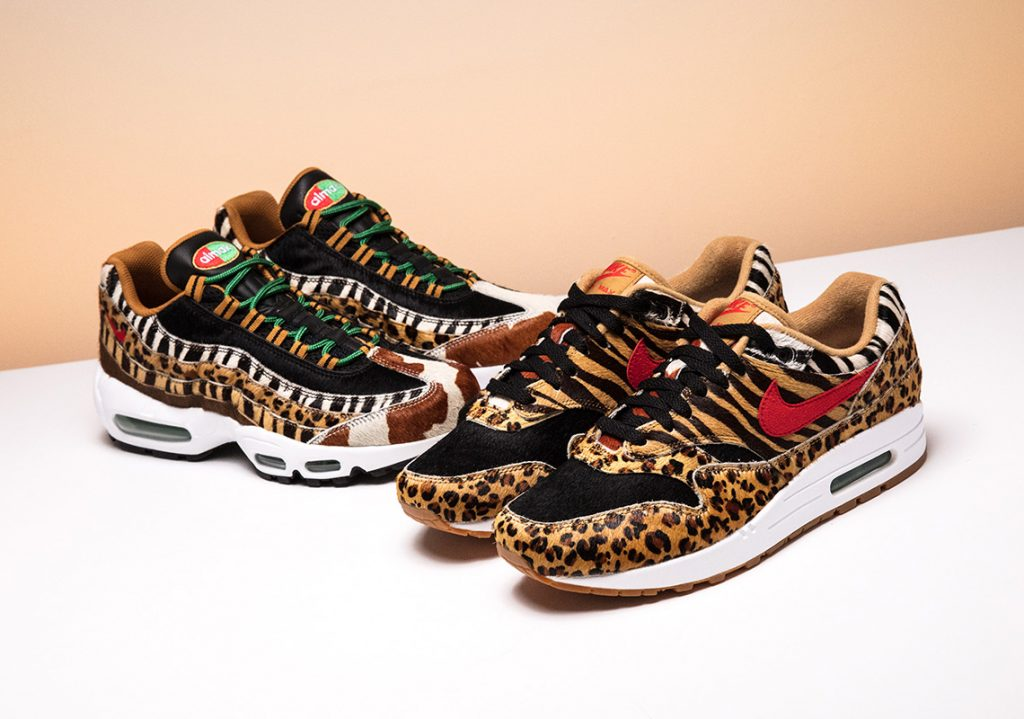 "hot sale online 47340 4e384 atmos x Nike Air Max ""Animal Pack 2.0"" Drops in SG  MY on March 17"