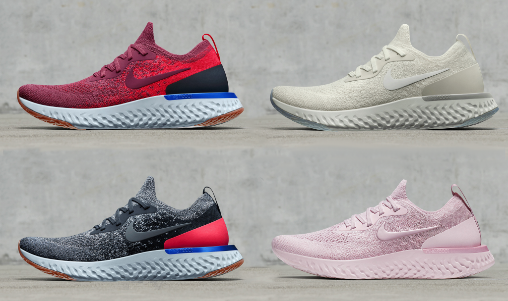 150512a4ab9f1 Nike To Introduce 5 New Epic React Flyknit Colourways This Spring