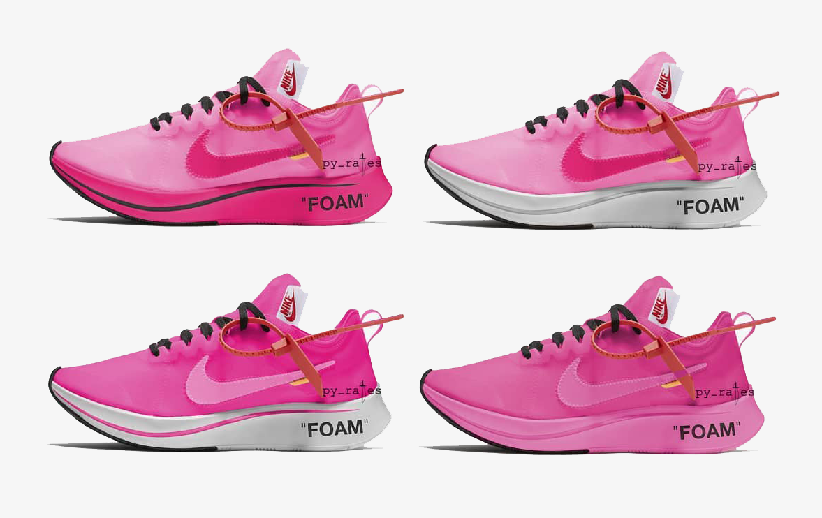 9447fcdc1b8b6 Off-White and Nike Expected To Launch The Zoom Fly in Pink