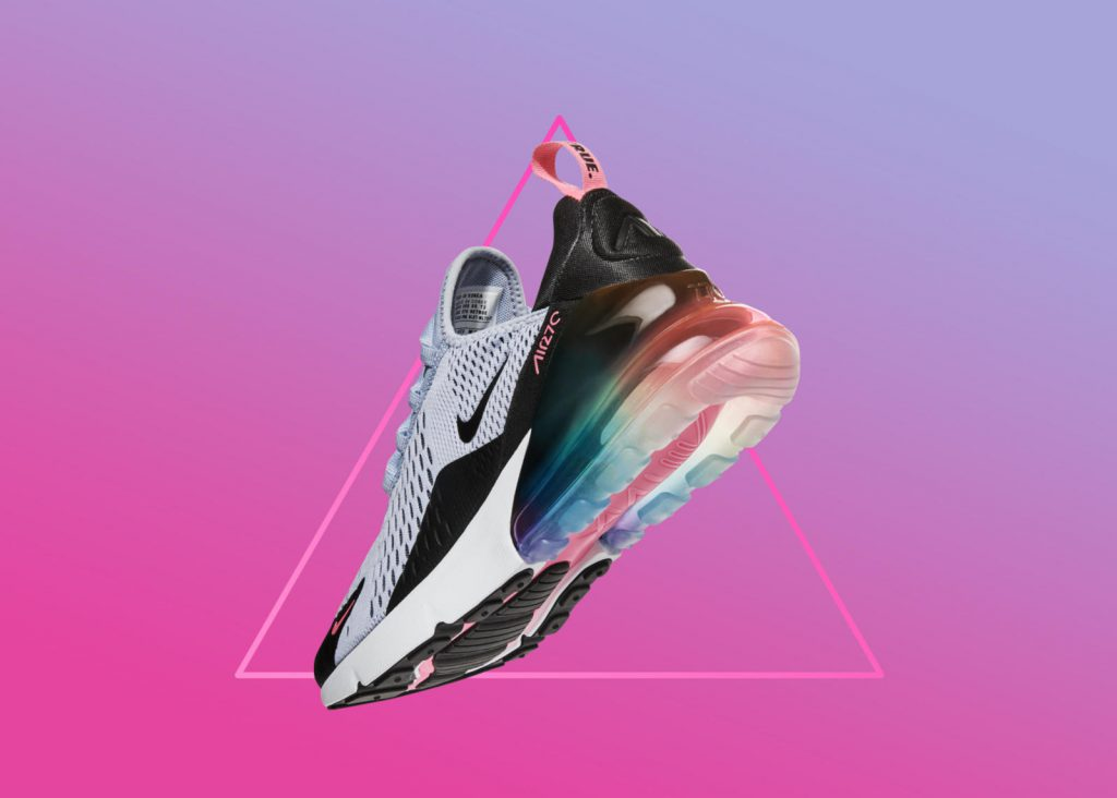"""67e3d2218a93 Nike Celebrates LGBTQ Pride Month With The """"BETRUE 2018"""" Collection. JD  Sports Singapore"""