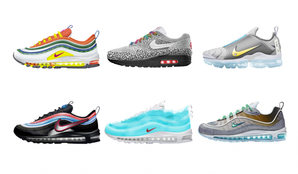 These Are The Six Winning Air Max Designs from the Nike: On