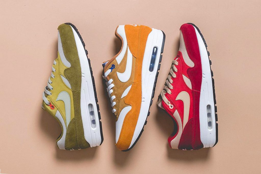 """6189dc1b51562 Three Ways To Cop The Two Remaining Air Max 1 """"Curry"""" Colourways on May 12"""